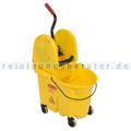 Reinigungswagen Rubbermaid WaveBrake mit Kombipresse Gelb