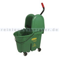 Reinigungswagen Rubbermaid WaveBrake mit Kombipresse Grün