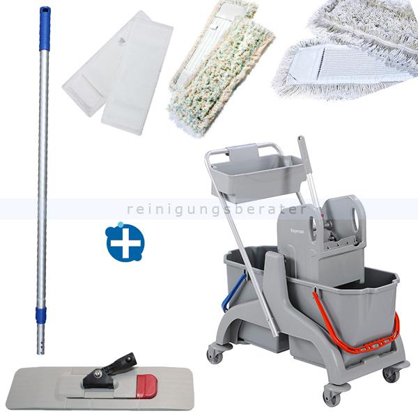 Reinigungswagen Set ReinigungsBerater Magnet 40 cm & Korb