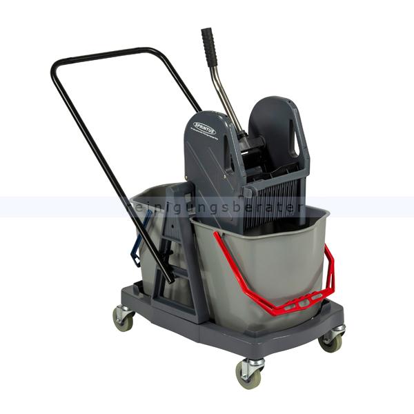 Reinigungswagen Sprintus 2x17 L Kunststoff