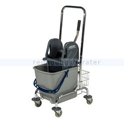 Reinigungswagen Sprintus Einfachfahreimer 27 L