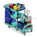 Reinigungswagen TTS Green 450 blau