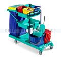Reinigungswagen TTS Green 460 blau