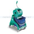Reinigungswagen TTS Nick 15 L grün mit Dry Presse