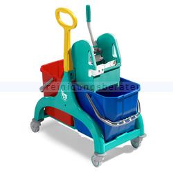 Reinigungswagen TTS Nick 2x25L, grün