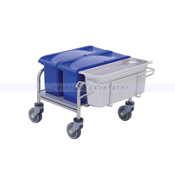 PPS Pfennig Clino CR mini EM-CR2 Reinraumwagen für nicht-sterile Bereiche, minimaler Platzbedarf 3510140