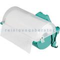 Rollenhalter für Putzrollen. Putzpapier TTS grün