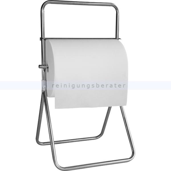 Rollenhalter für Putzrollen Bodenständer aus Metall