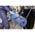 Rollenhalter Kimberly Clark Fahrbarer Bodenständer für Großrollen aus Metall mit Sackhalter