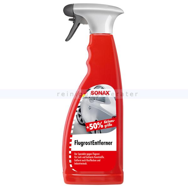 SONAX Flugrost Entferner, 750 ml Entfernt aggressive Flugrost-Rückstände 05134000