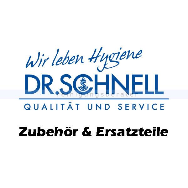 Dr. Schnell RAPIDOMAT PRO schwarz/ extra hart Rundbürste Ersatzbürste für RAPIDOMAT PRO 88508