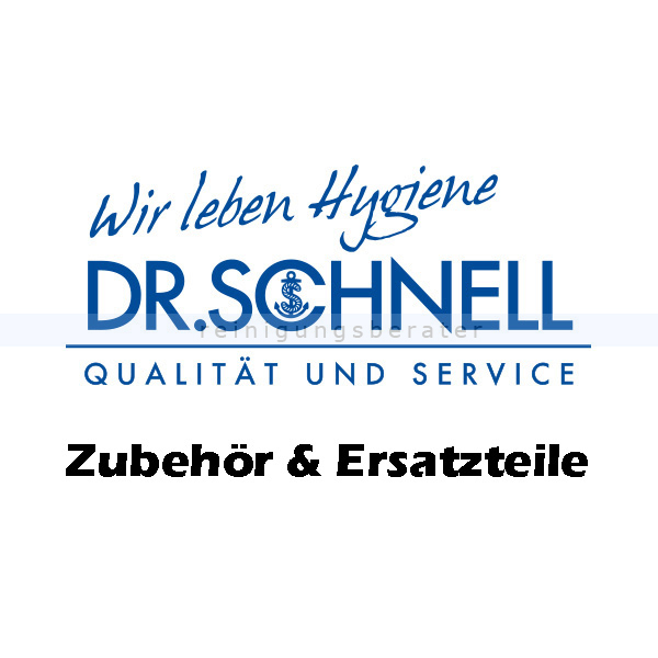 Dr. Schnell RAPIDOMAT PRO weiss/ weich Rundbürste Ersatzbürste für RAPIDOMAT PRO 88505
