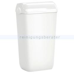 Sanitärbehälter Skin 23 L Abfallbehälter mit Deckel weiß