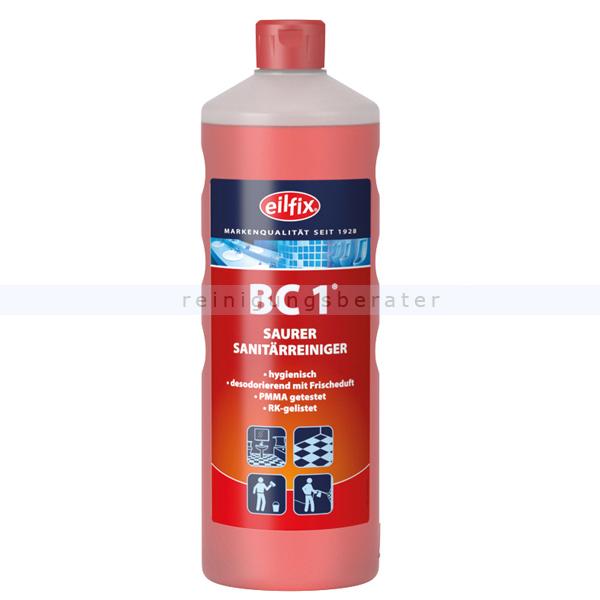 Becker Chemie Eilfix BC1 1 L Unterhaltsreiniger mit besonders frischer Note und Keimstopp 100153-001-000