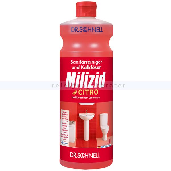 Sanitärreiniger Dr. Schnell Milizid Citro 1 L