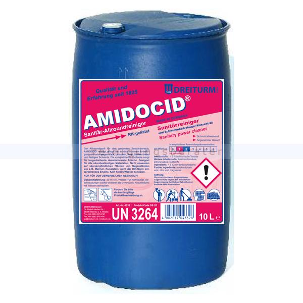 Sanitärreiniger Dreiturm Amidocid 200 L Fass