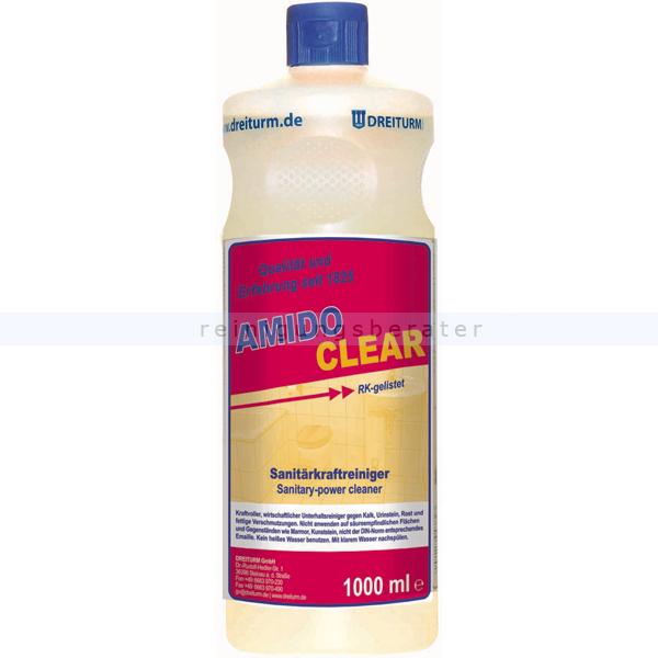Dreiturm Amidoclear 1 L Sanitär-Kraftreiniger mit desodoriender Wirkung 4382