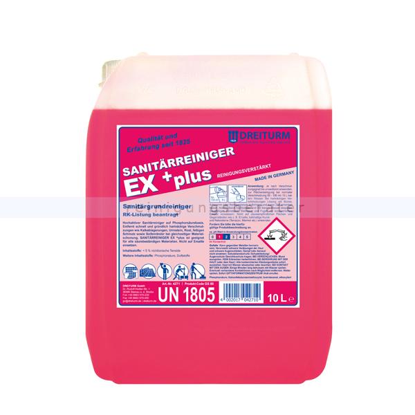 Sanitärreiniger Dreiturm EX Plus 10