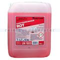 Sanitärreiniger Dreiturm Rot 10 L