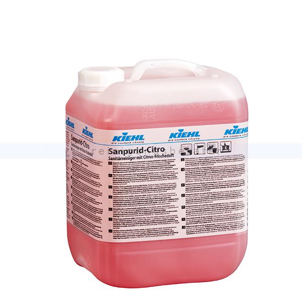 Sanitärreiniger Kiehl Sanpurid Citro 10 L