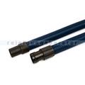 Saugschlauch Clean Track komplett 3,5 m schwarz/blau