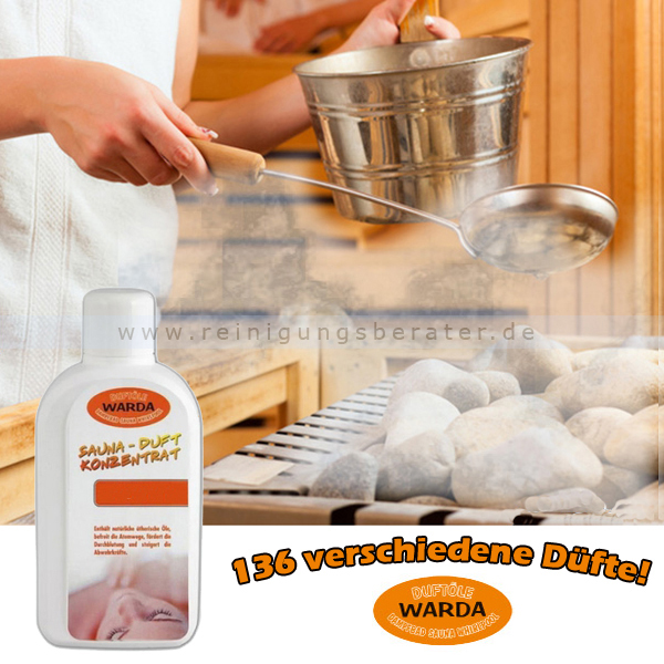 Saunaaufguss Duft-Konzentrat Warda Kaminfeuer 1 L