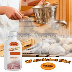 Saunaaufguss Duft-Konzentrat Warda Schoko-Minze 1 L