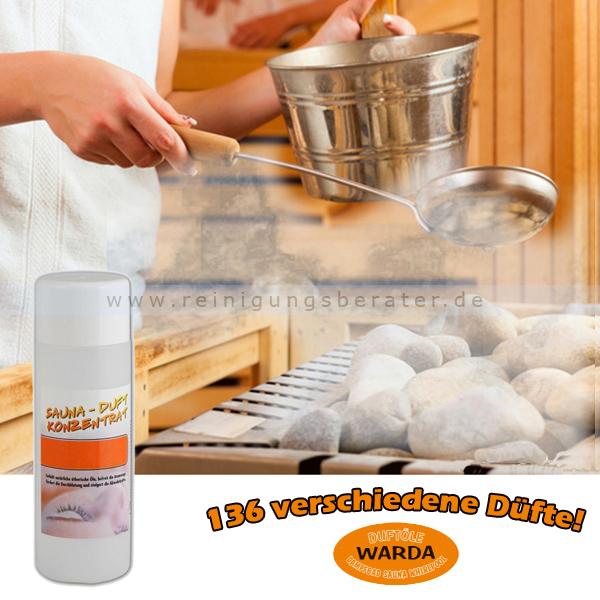 Saunaaufguss Duft-Konzentrat Warda Slibowitz 200 ml