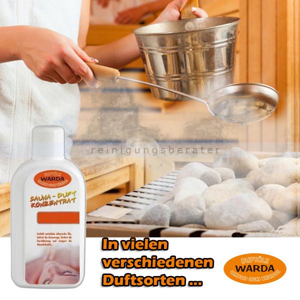 Saunaaufguss Duft-Konzentrat Warda Sommerwind 1 L
