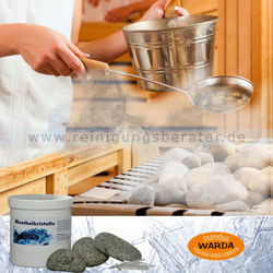 Saunakristalle, Mentholkristalle Warda 100 g