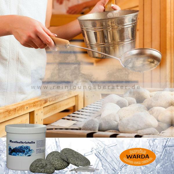 Saunakristalle, Mentholkristalle Warda 50 g