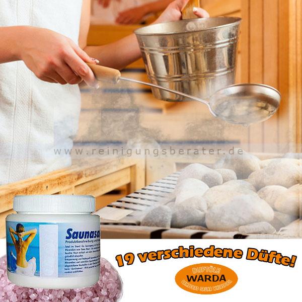 Saunasalz Warda Japanisches Heilpflanzenöl 500 g 41100501