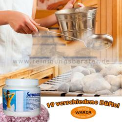 Saunasalz Warda Menthol 500 g