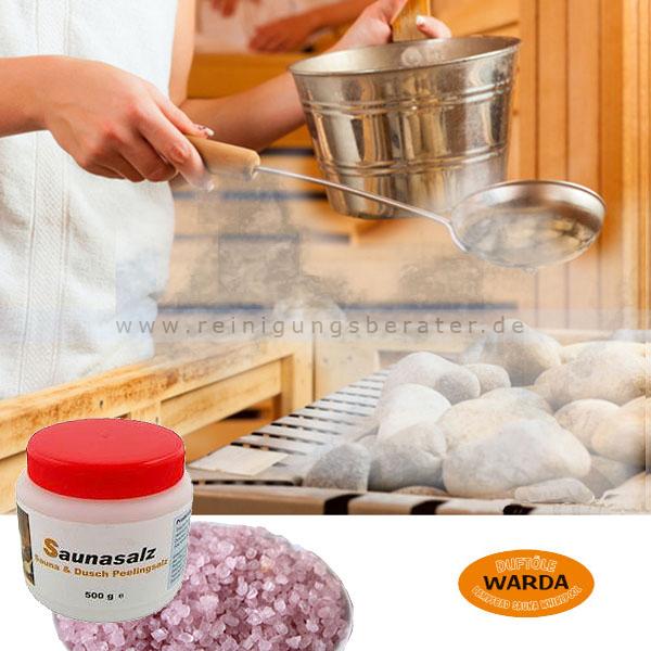 Saunasalz Warda Mineral Totes Meer 500 g
