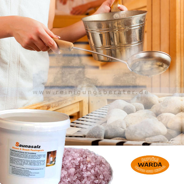 Saunasalz Warda Mineral Totes Meer 5 kg