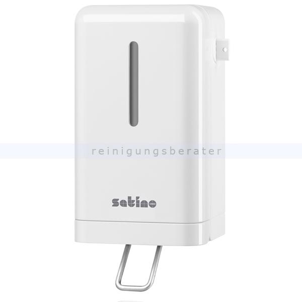 Schaumseifenspender Wepa Satino Seifenspender mini weiß