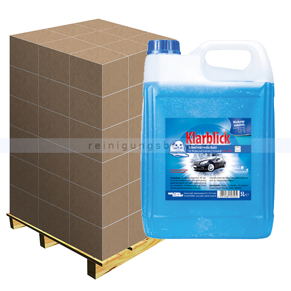 Scheibenfrostschutz Klarblick 5 L bis -60 °C Palette