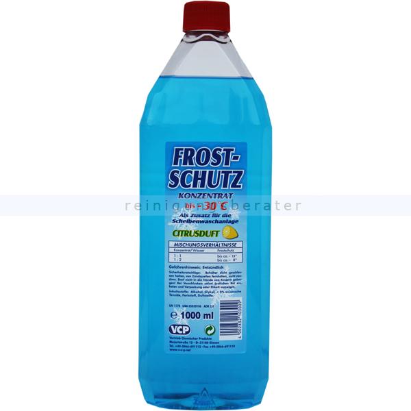 Scheibenfrostschutz mit Citrusduft 1 L bis -30 °C