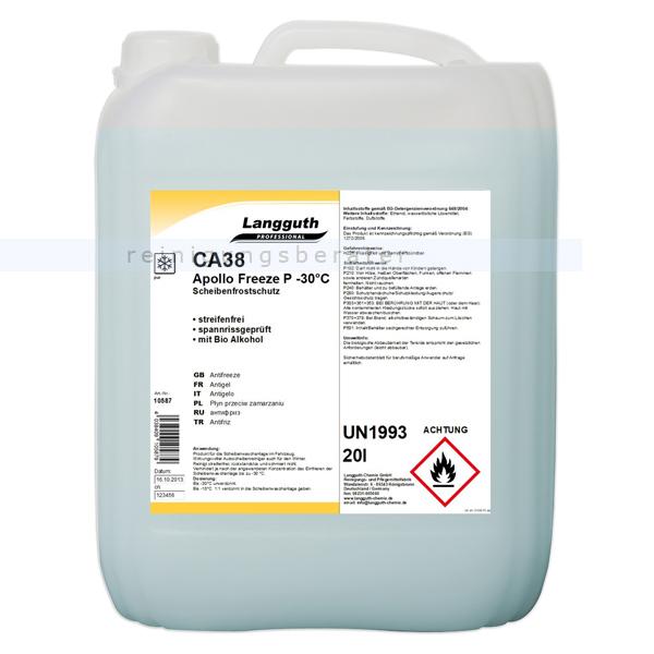 Scheibenfrostschutz mit Citrusduft 20 L bis -30 °C