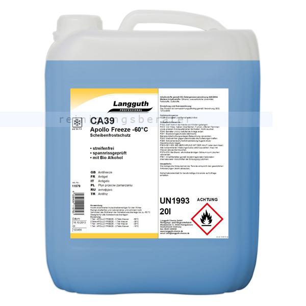 Scheibenfrostschutz mit Citrusduft 20 L bis -60 °C