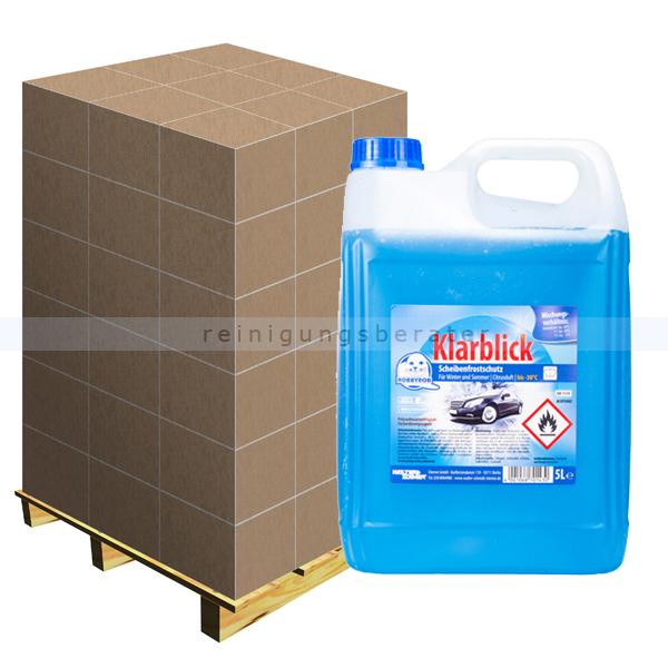 Scheibenfrostschutz mit Citrusduft 5 L bis -30 °C, Palette