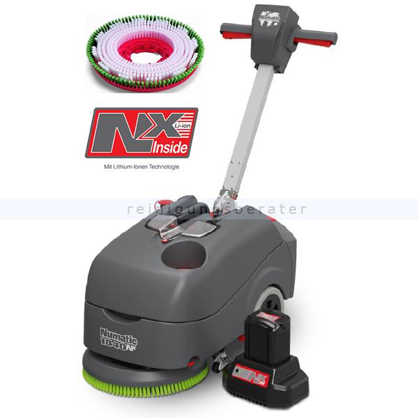 Scheuersaugmaschine Numatic TTB1840NX mit PPN-Scheuerbürste
