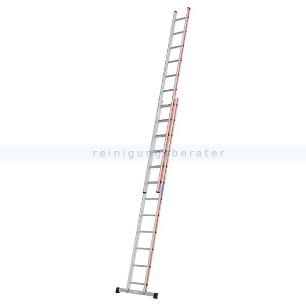 Schiebeleiter Hymer Walzprofil 2x12 Sprossen beide Leiterteile können einzeln verwendet werden 404624