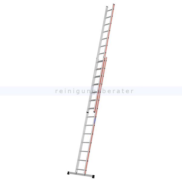 Schiebeleiter Hymer Walzprofil 2x14 Sprossen beide Leiterteile können einzeln verwendet werden 404628