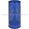 Schirmständer VAR Lochdesgin 30 L enzianblau