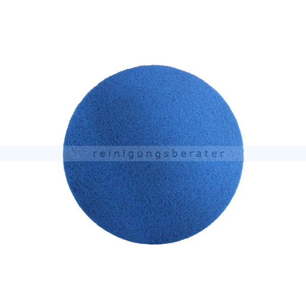 Schleifpad Kiehl Legno-Pad 18 Zoll blau 457 mm, maschinelle Trockenreinigung von Parkettböden z405118