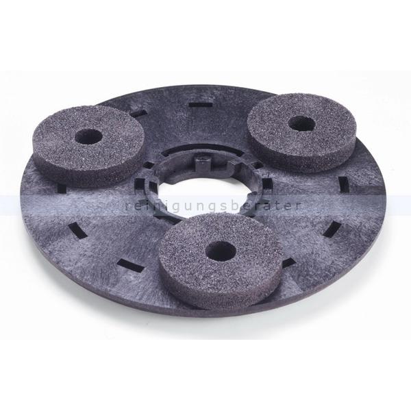 Schleifteller Einscheibenmaschine Numatic Carbotex 16 Zoll Carbotex-Schleifteller 400 mm 606208