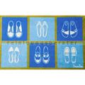 Schmutzfangmatte Doortex Läufer blau 50 x 75 cm