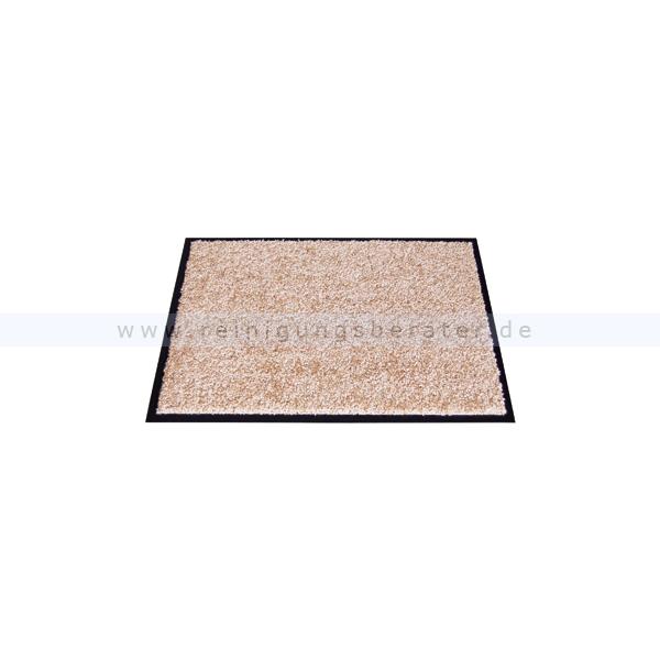 Schmutzfangmatte Miltex Eazycare beige 40 x 60 cm waschbare Schmutzfangmatte 22016