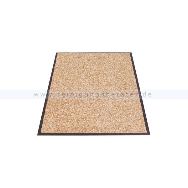 Schmutzfangmatte Miltex Eazycare beige 91 x 150 cm waschbare Schmutzfangmatte 22036